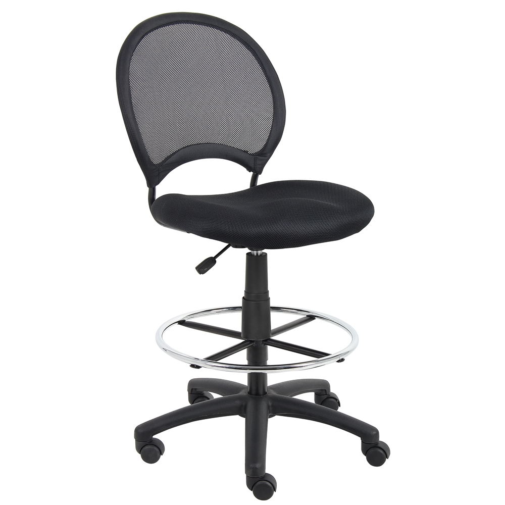 Boss Mesh Drafting Stool. Picture 4