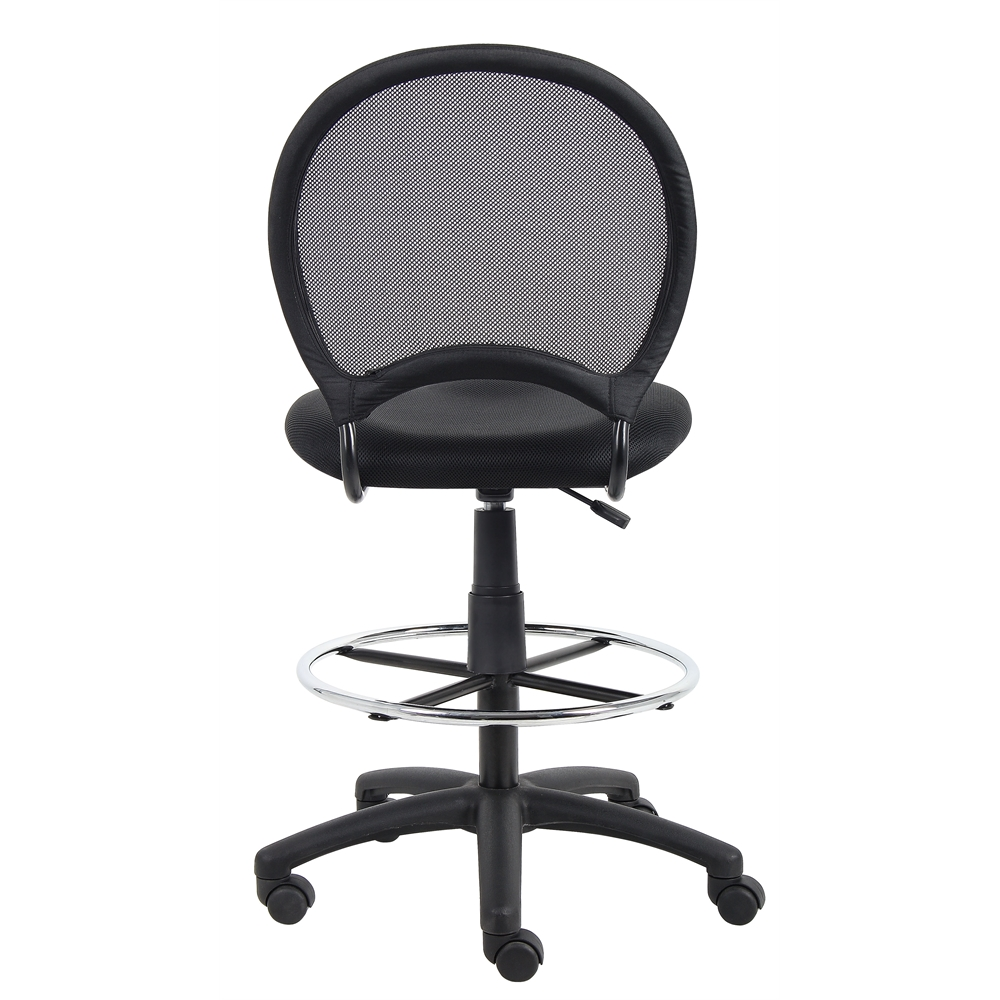 Boss Mesh Drafting Stool. Picture 1
