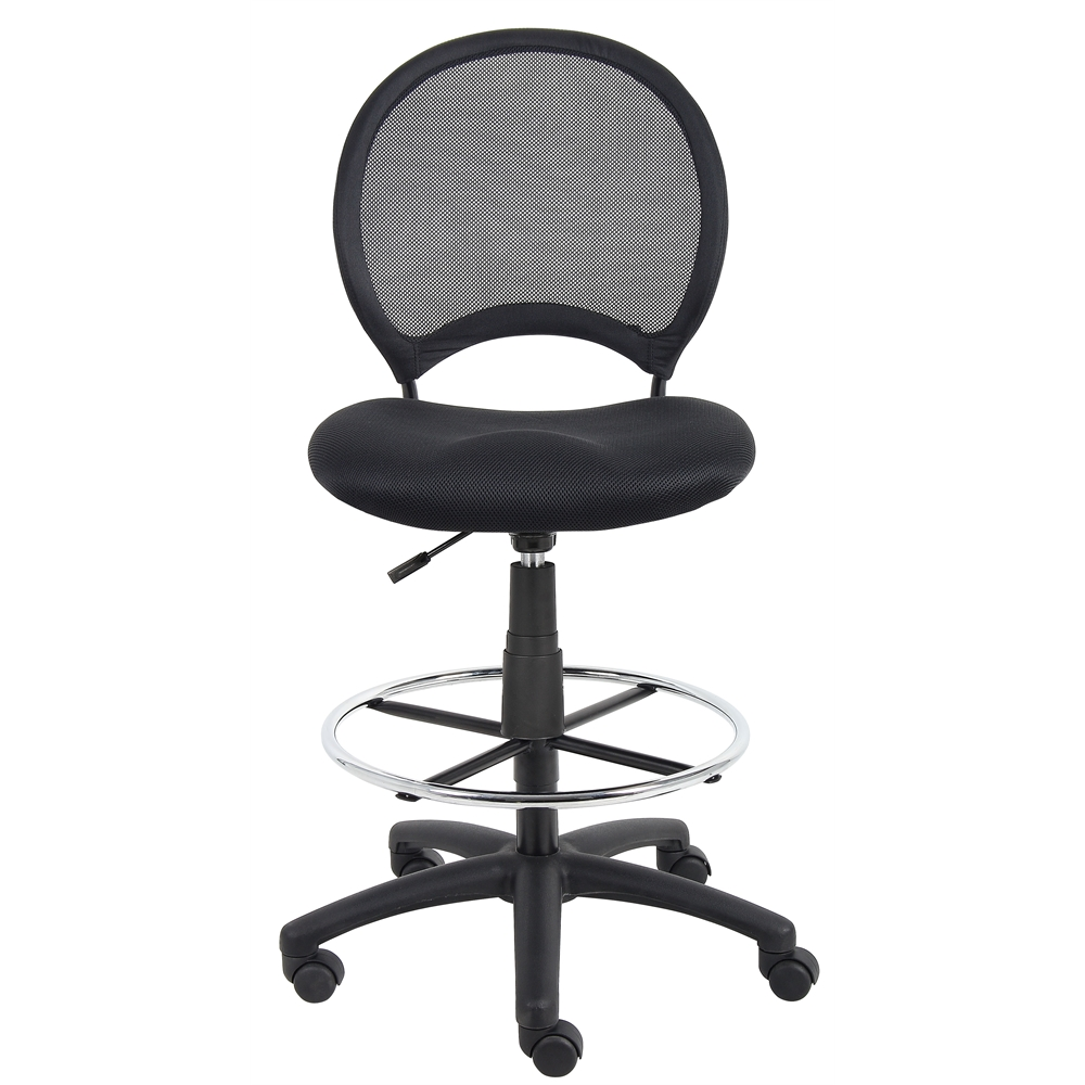 Boss Mesh Drafting Stool. Picture 2
