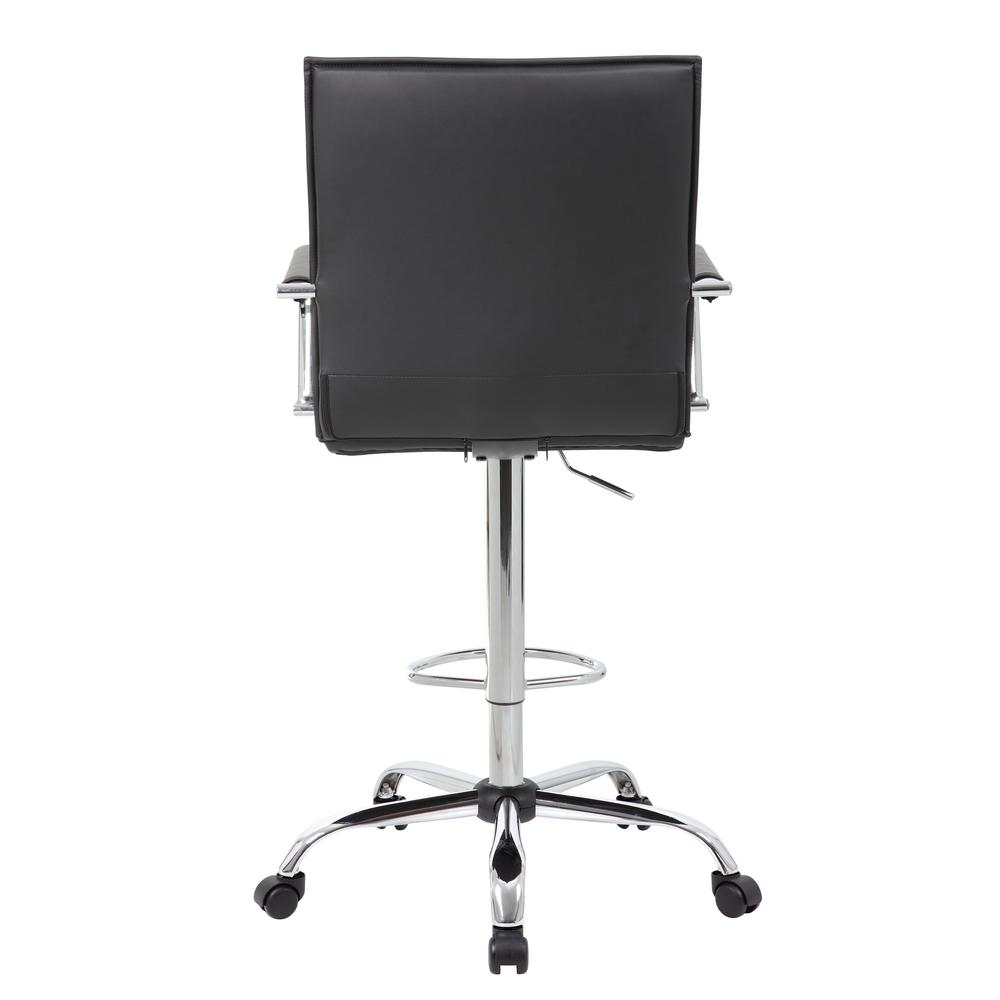 Boss Vinyl Ribbed Drafting Stool. Picture 3