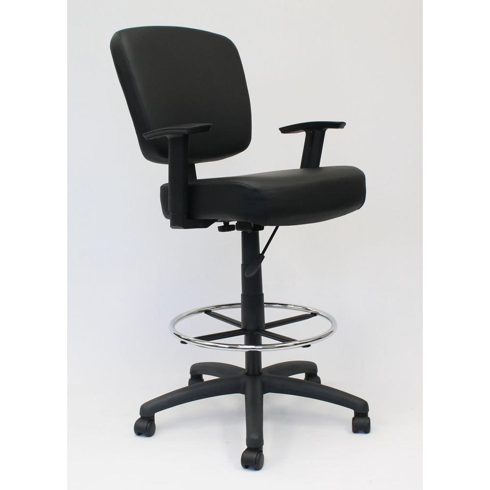 Boss Oversized Drafting Stool. Picture 5