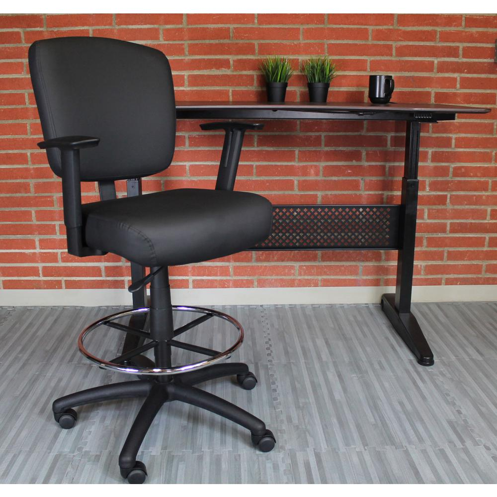 Boss Oversized Drafting Stool. Picture 1