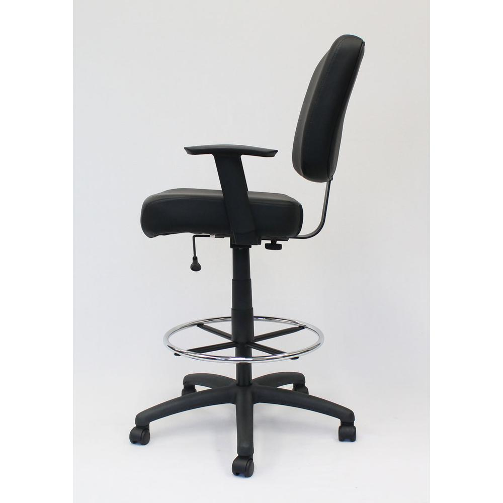 Boss Oversized Drafting Stool. Picture 4