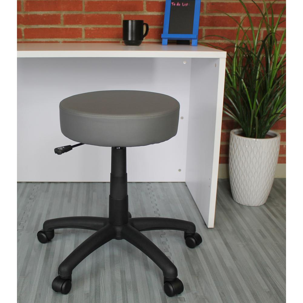 The DOT stool, Gray Vinyl. Picture 2