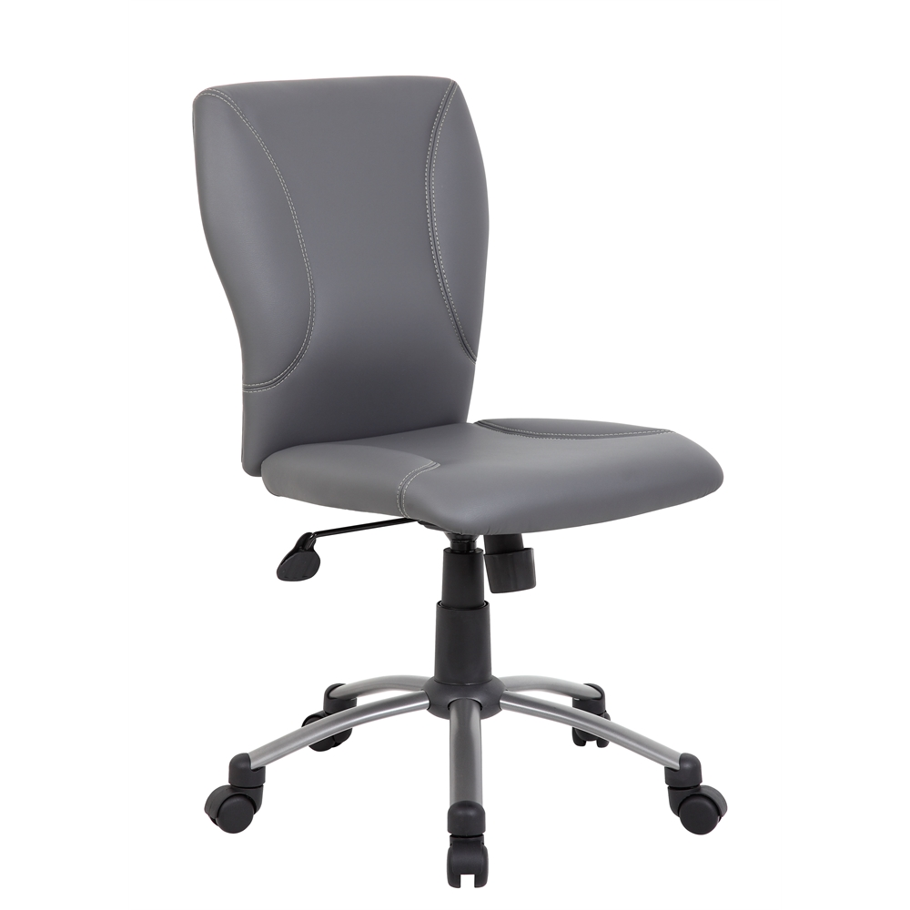 Tiffany CaressoftPlus Chair-Grey. Picture 1