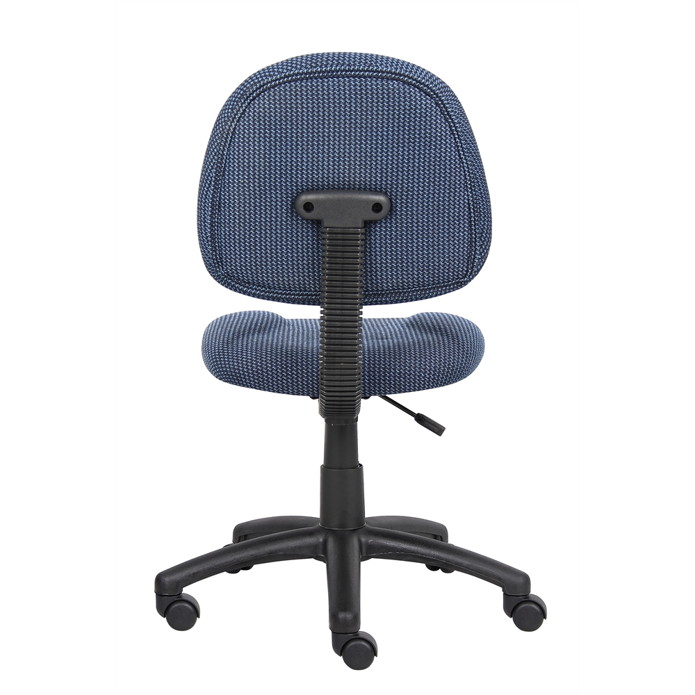 Boss Blue  Deluxe Posture Chair. Picture 2