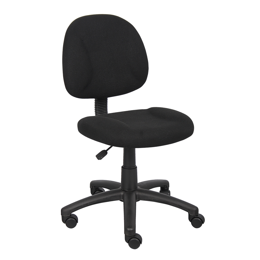 Boss Black  Deluxe Posture Chair. Picture 1