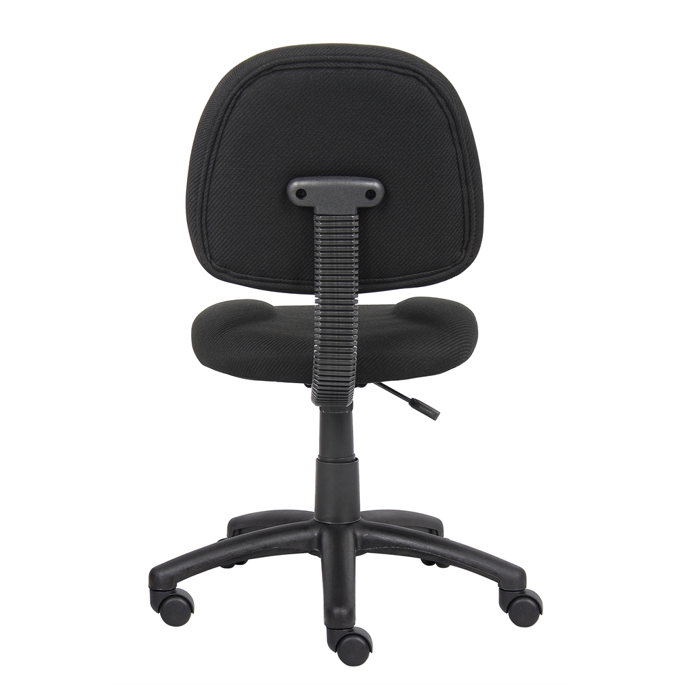 Boss Black  Deluxe Posture Chair. Picture 2