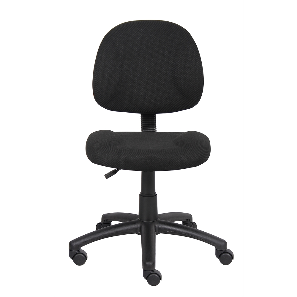 Boss Black  Deluxe Posture Chair. Picture 3
