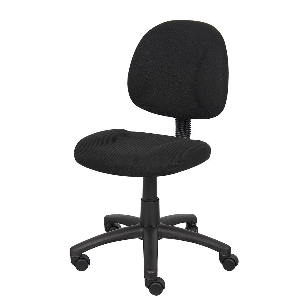 Boss Black  Deluxe Posture Chair. Picture 4