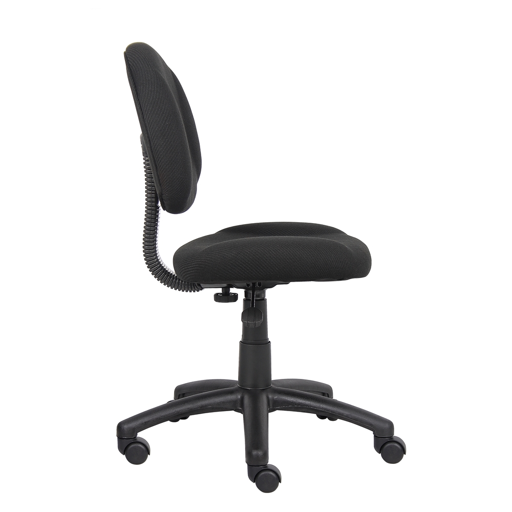 Boss Black  Deluxe Posture Chair. Picture 6