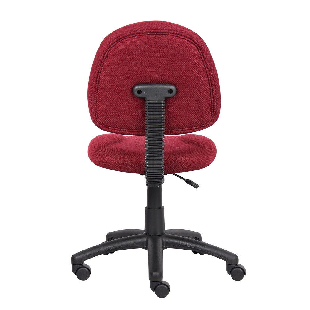 Boss Burgundy  Deluxe Posture Chair. Picture 2
