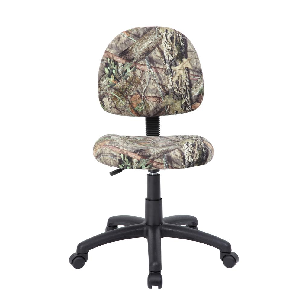 Boss Mossy Oak Deluxe Posture Chair. Picture 1