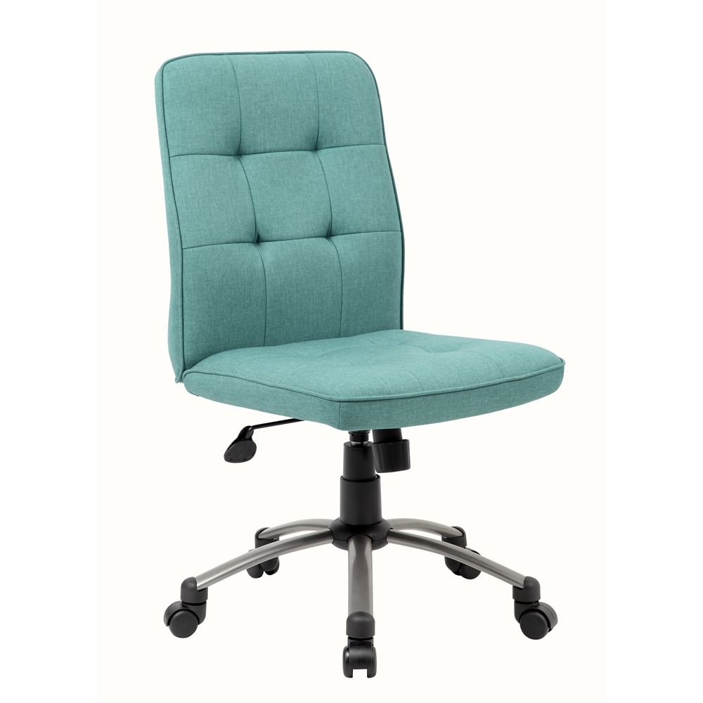 Modern Office Chair - Green. Picture 6