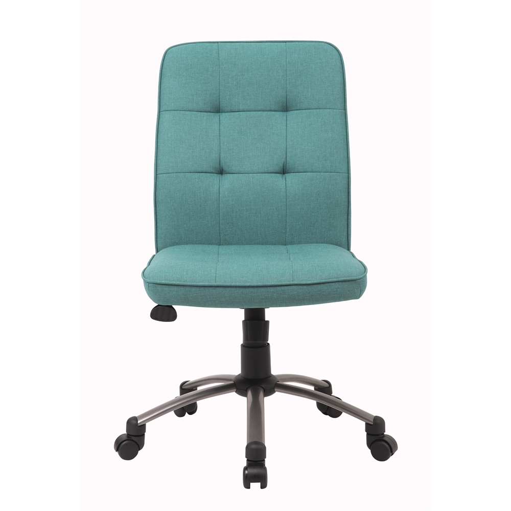 Modern Office Chair - Green. Picture 1