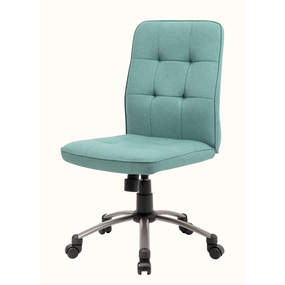 Modern Office Chair - Green. Picture 3