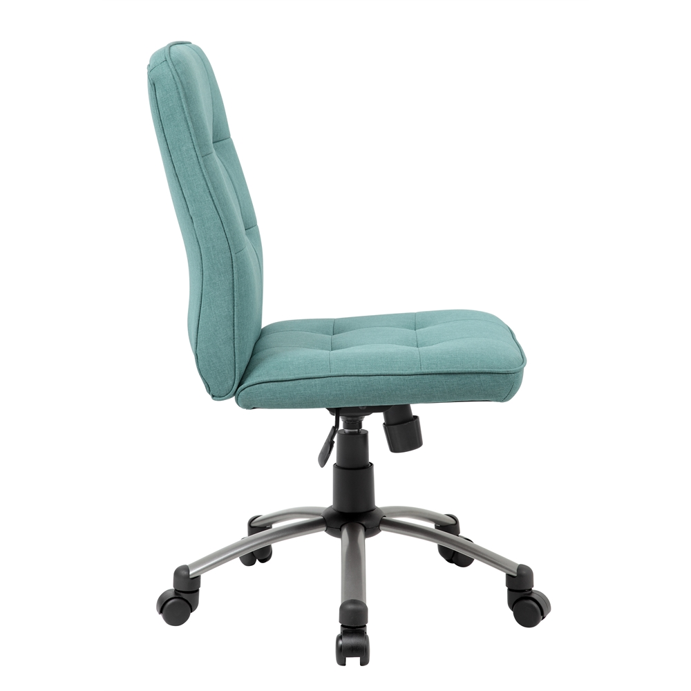 Modern Office Chair - Green. Picture 5