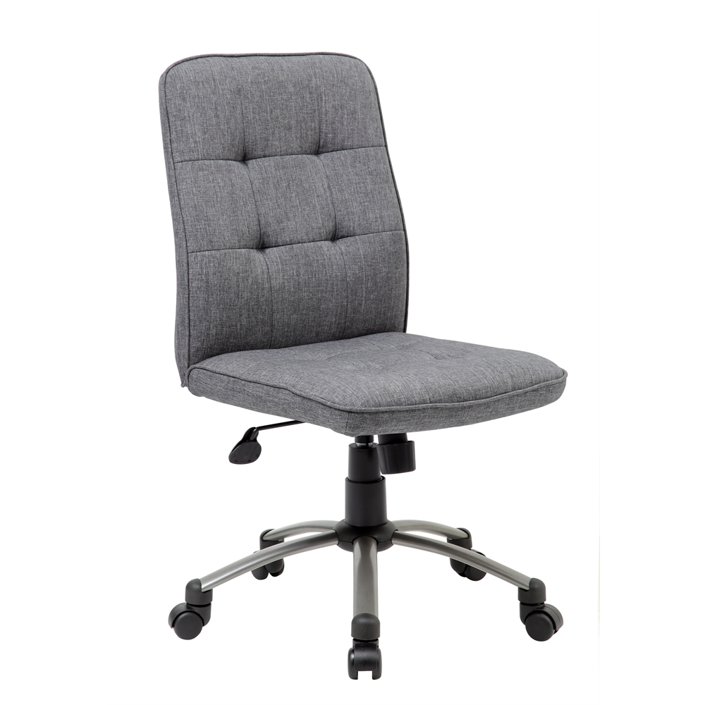 Modern Office Chair - Slate Grey. Picture 1