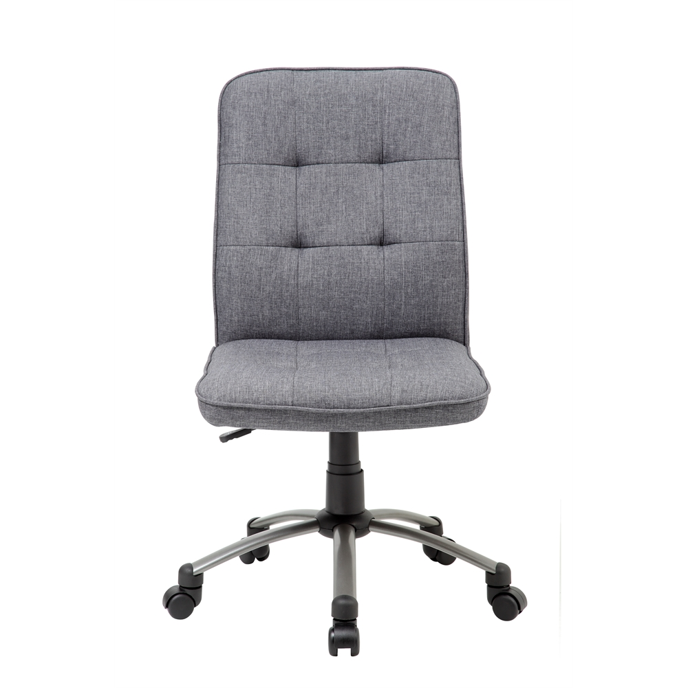 Modern Office Chair - Slate Grey. Picture 3