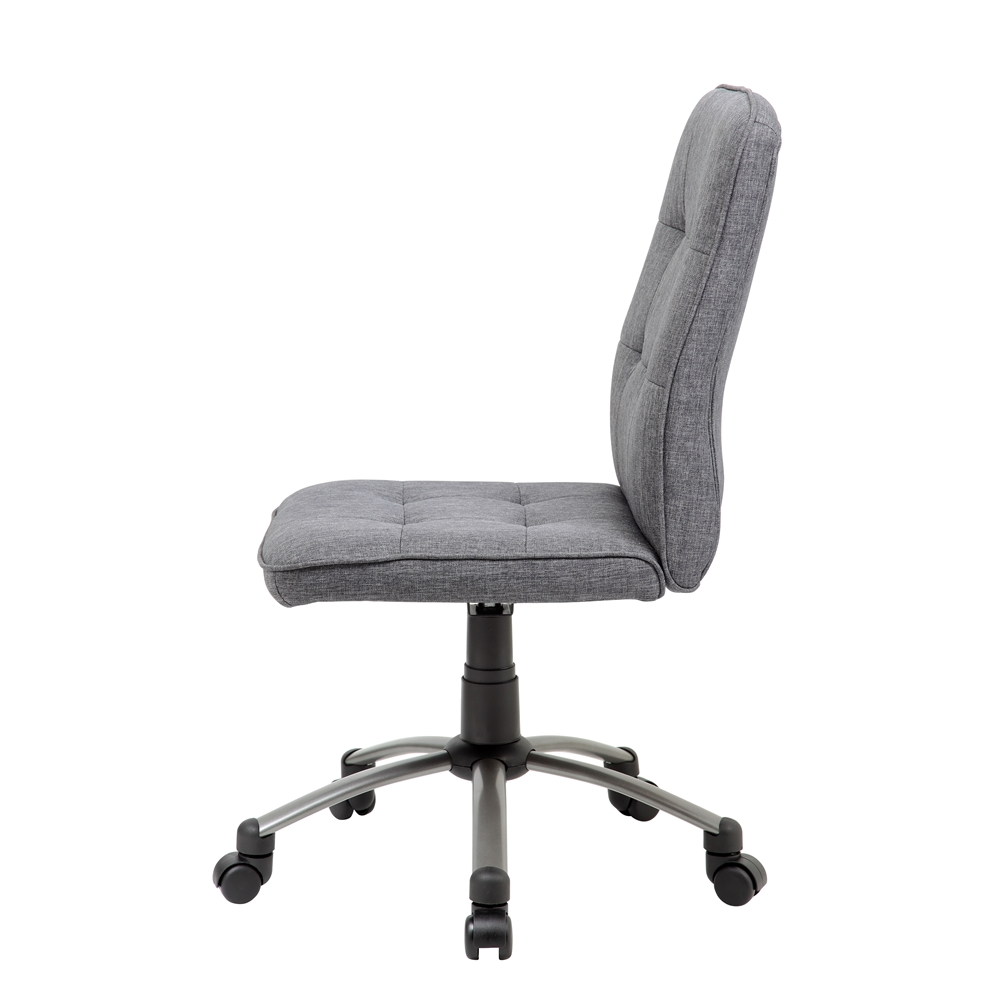 Modern Office Chair - Slate Grey. Picture 5