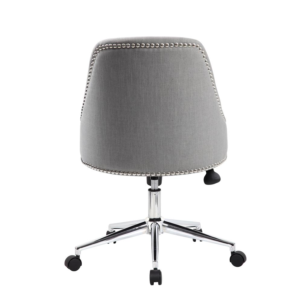 Boss Carnegie Desk Chair - Grey. Picture 2