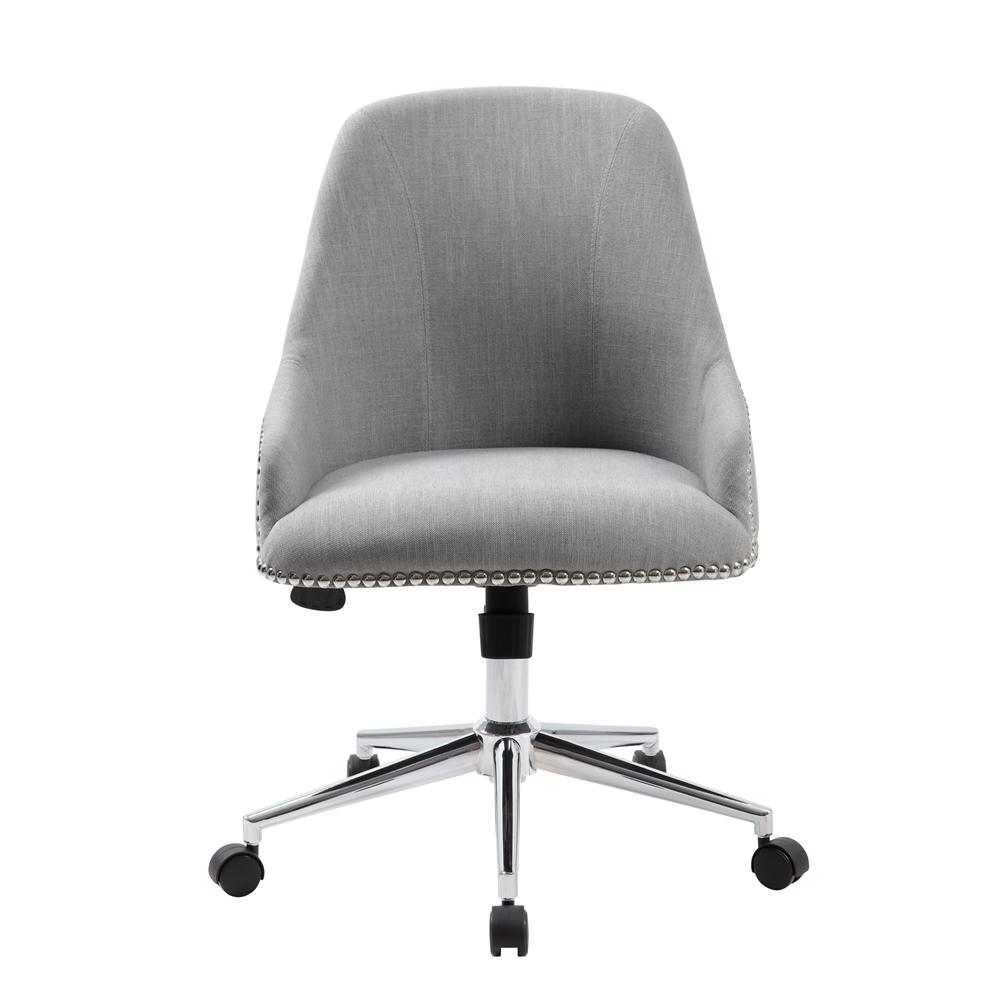 Boss Carnegie Desk Chair - Grey. Picture 3