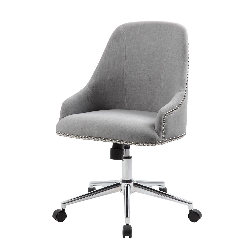 Boss Carnegie Desk Chair - Grey. Picture 4