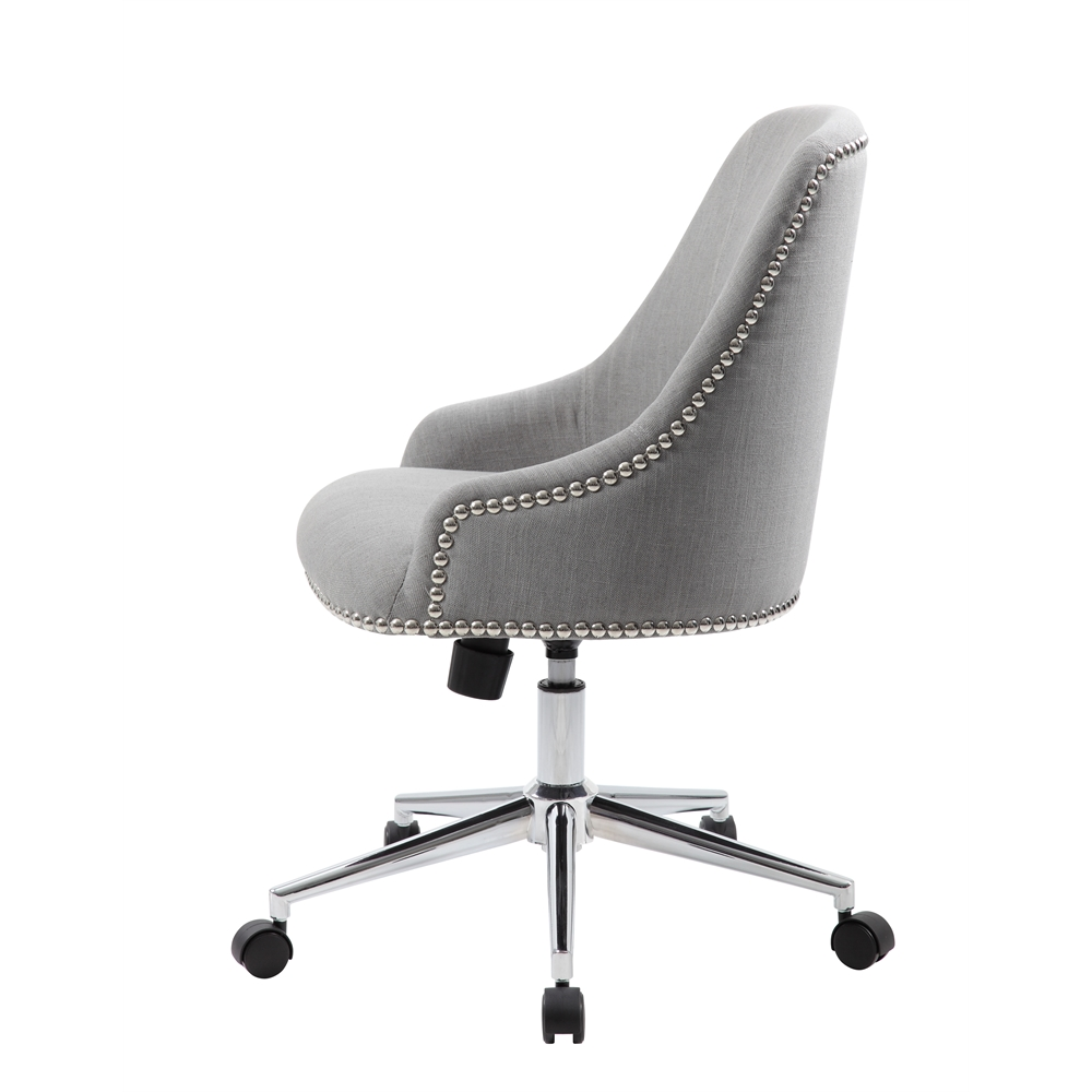 Boss Carnegie Desk Chair - Grey. Picture 5