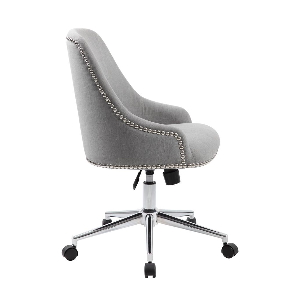 Boss Carnegie Desk Chair - Grey. Picture 6