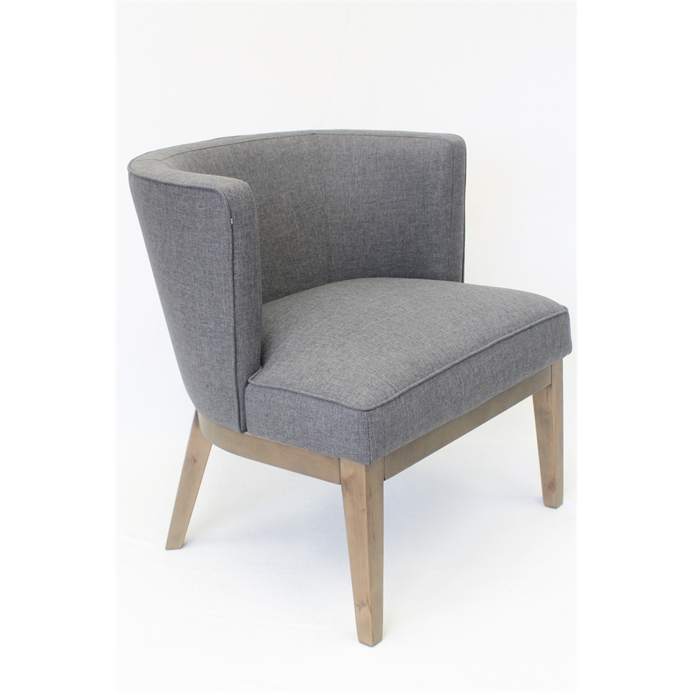 Boss Ava Accent Chair - Slate Grey. Picture 1