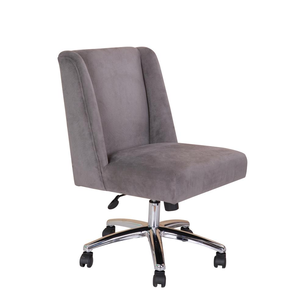 Boss Decorative Task Chair - Charcoal Grey. Picture 4