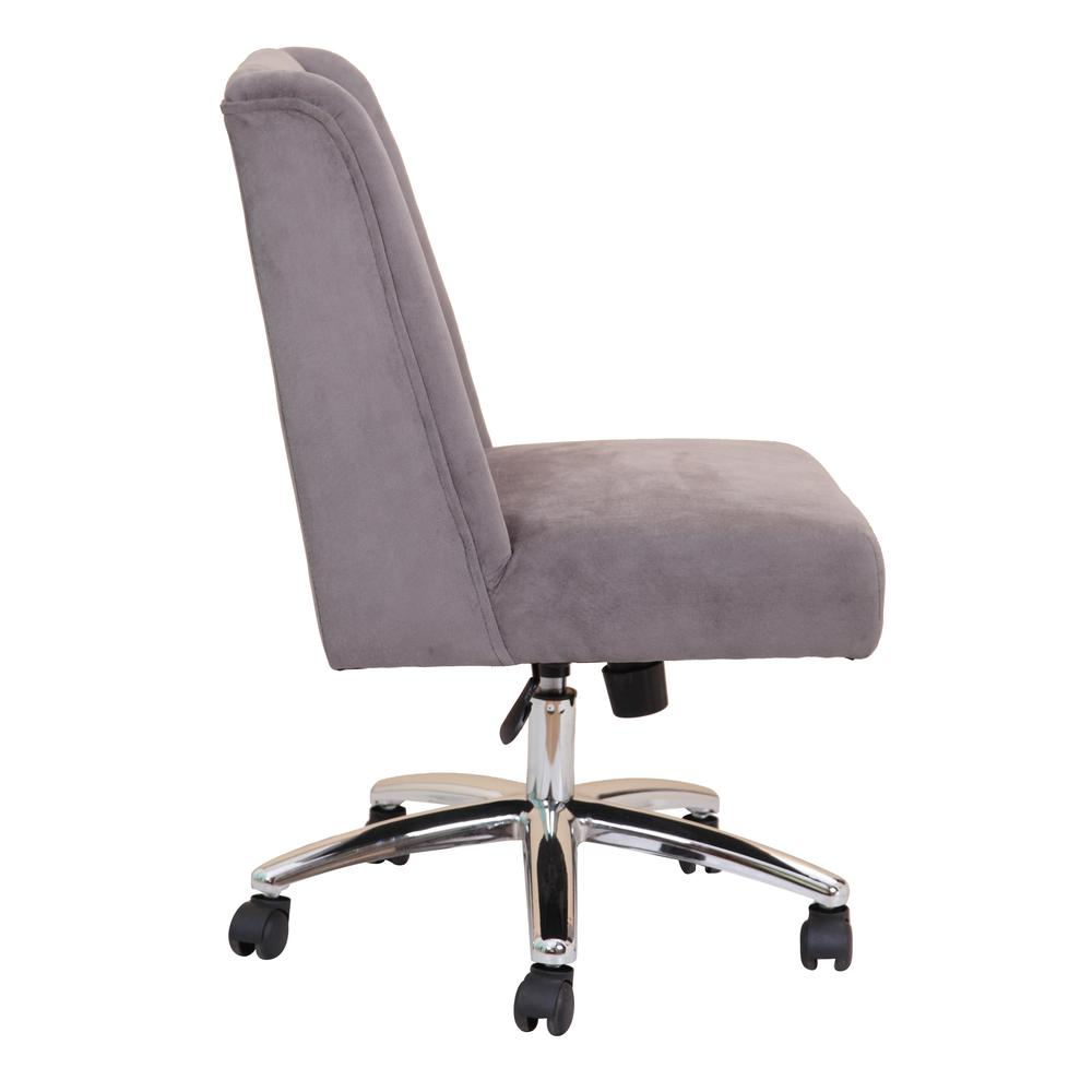 Boss Decorative Task Chair - Charcoal Grey. Picture 1