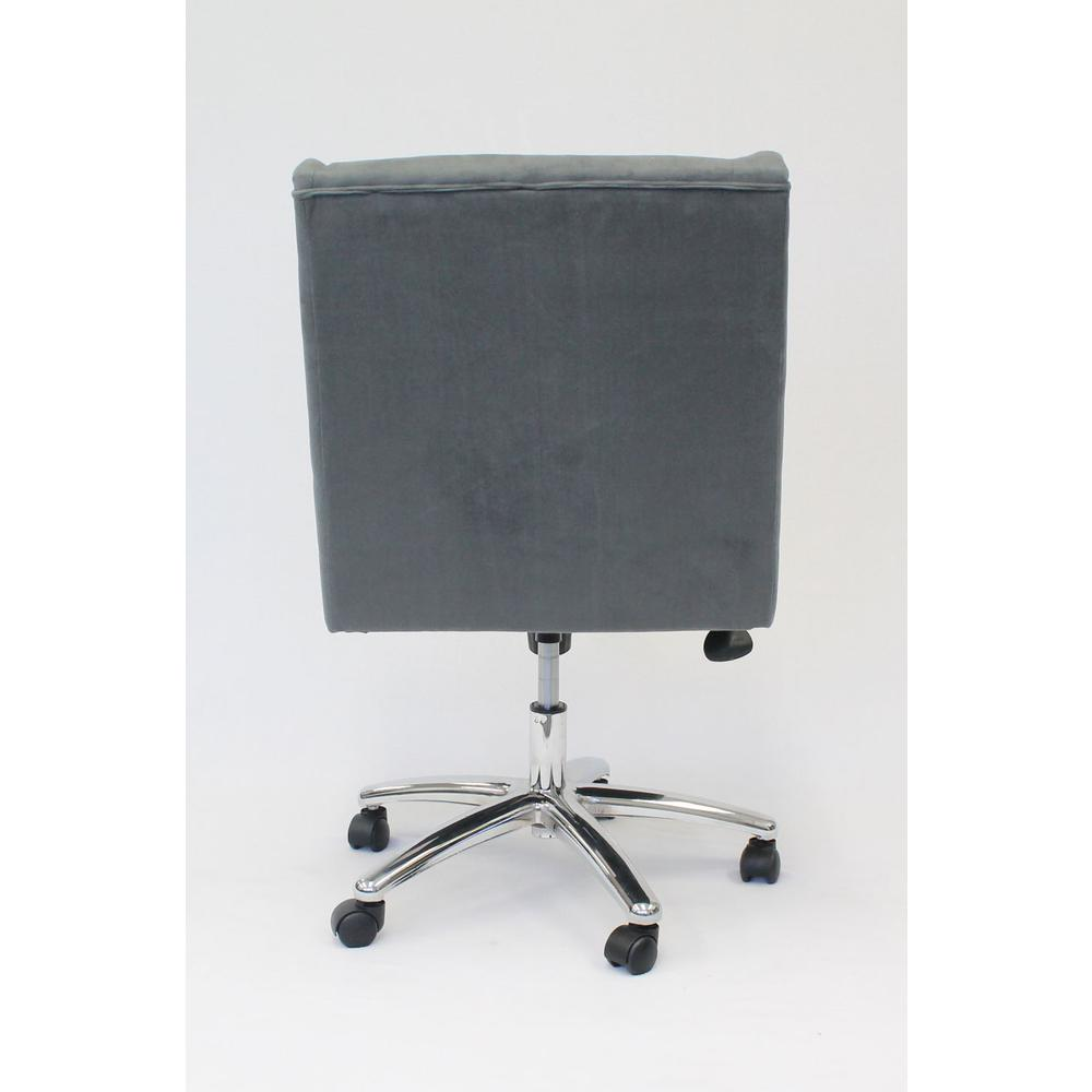 Boss Decorative Task Chair - Charcoal Grey. Picture 2
