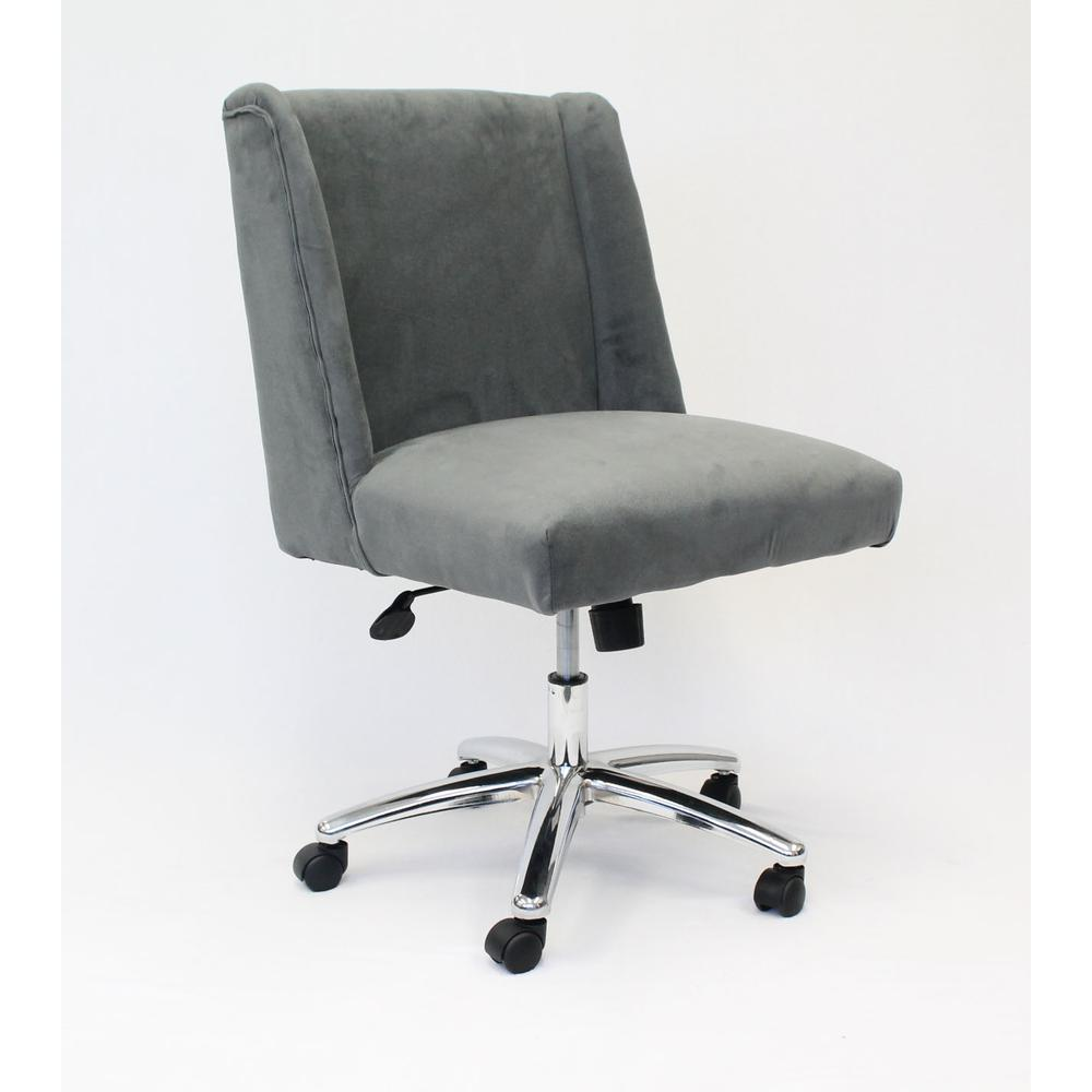 Boss Decorative Task Chair - Charcoal Grey. Picture 3
