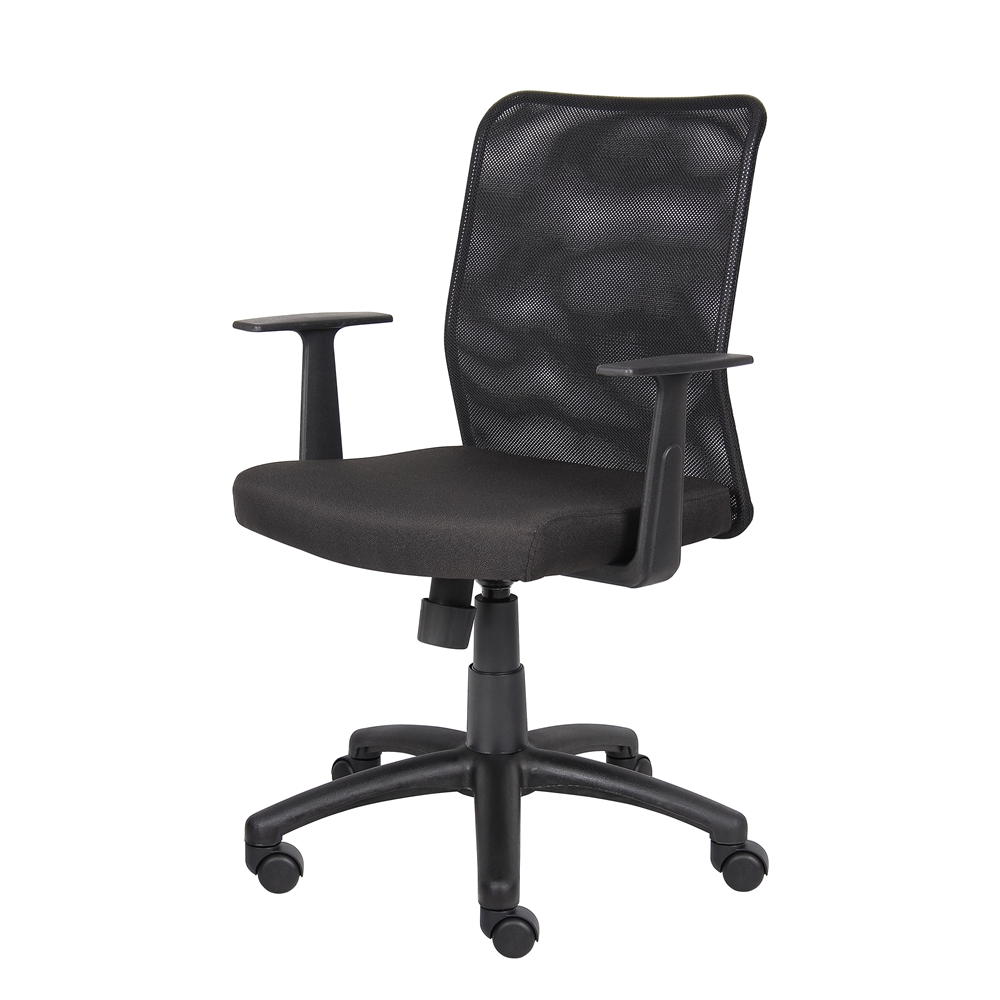 Boss Budget Mesh Task Chair W/ T-Arms. Picture 4