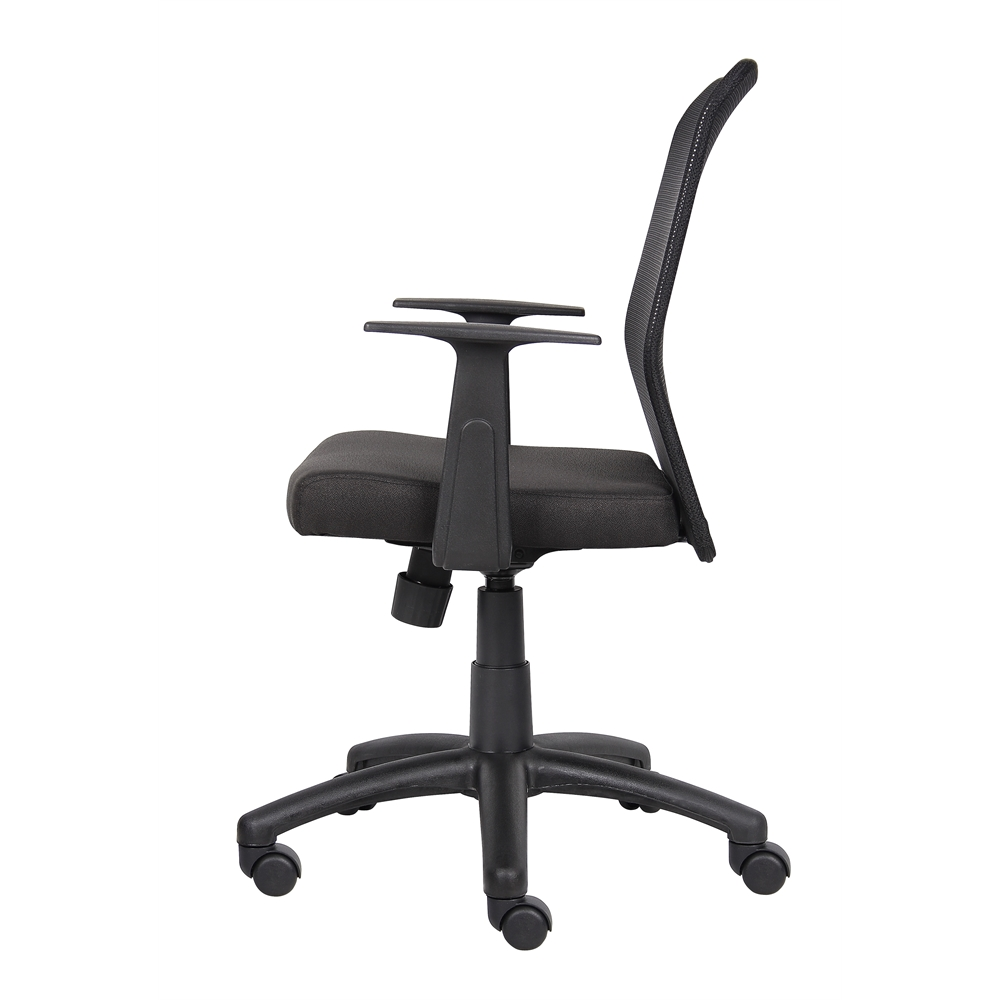 Boss Budget Mesh Task Chair W/ T-Arms. Picture 5
