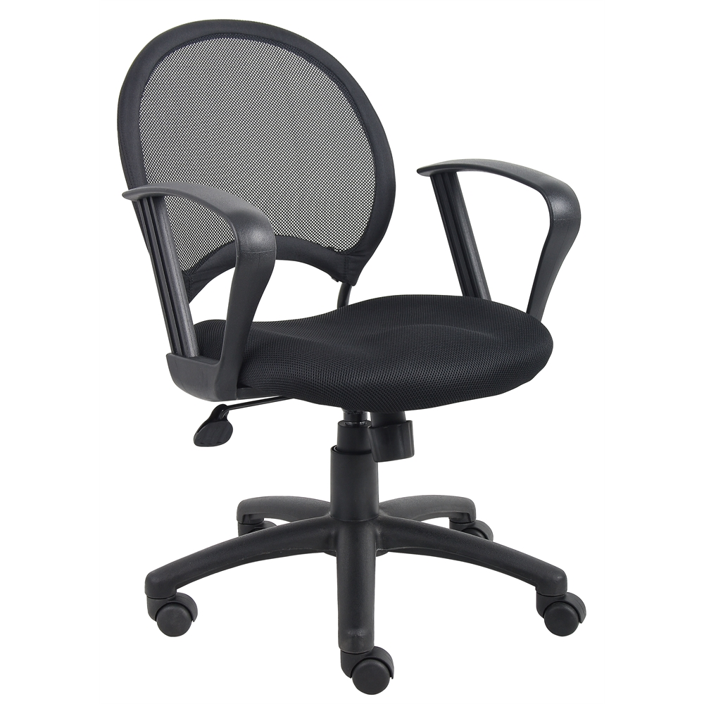 Boss Mesh Chair With Loop Arms. Picture 2