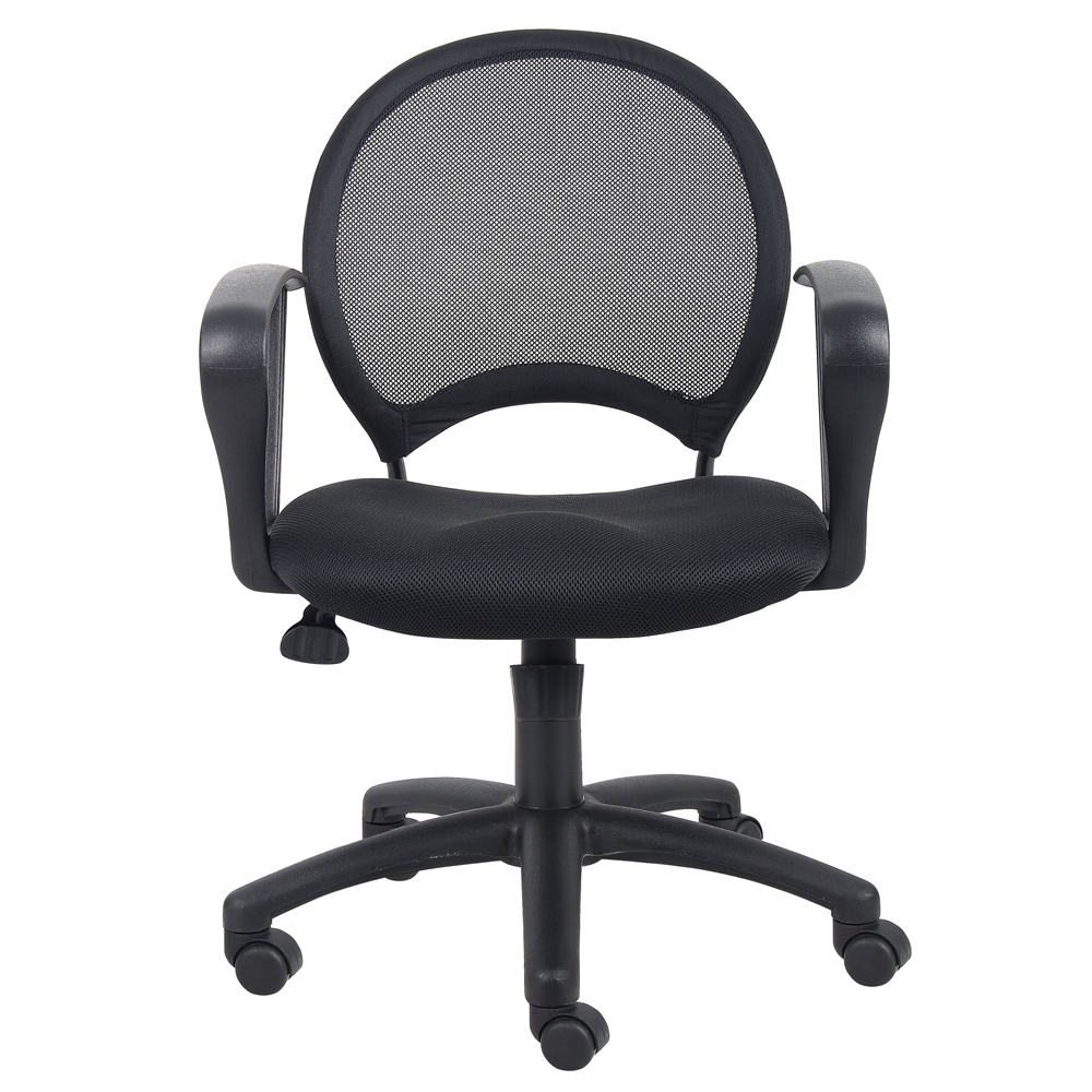 Boss Mesh Chair With Loop Arms. Picture 1