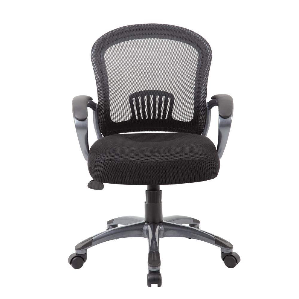 Boss Ergonomic Mesh Task Chair - Mid Back. Picture 3
