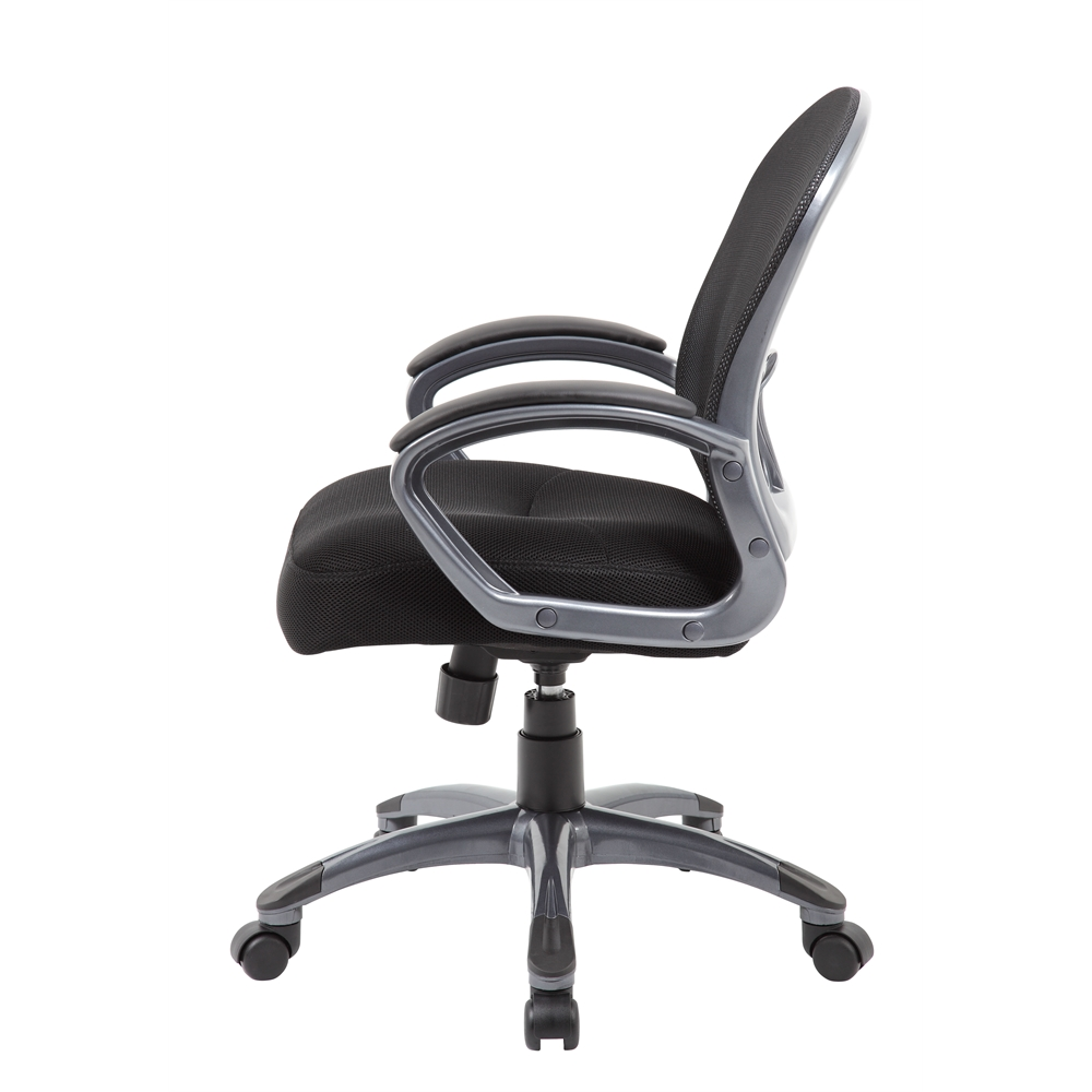 Boss Ergonomic Mesh Task Chair - Mid Back. Picture 5