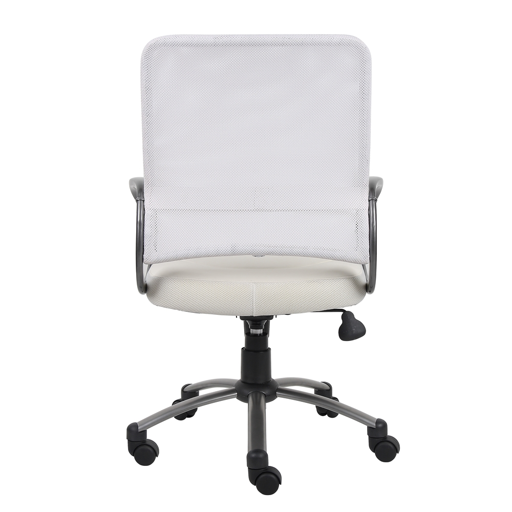 Boss Mesh Back W/ Pewter Finish Task Chair. Picture 3