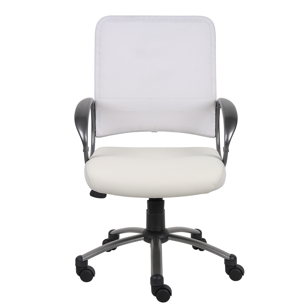 Boss Mesh Back W/ Pewter Finish Task Chair. Picture 4