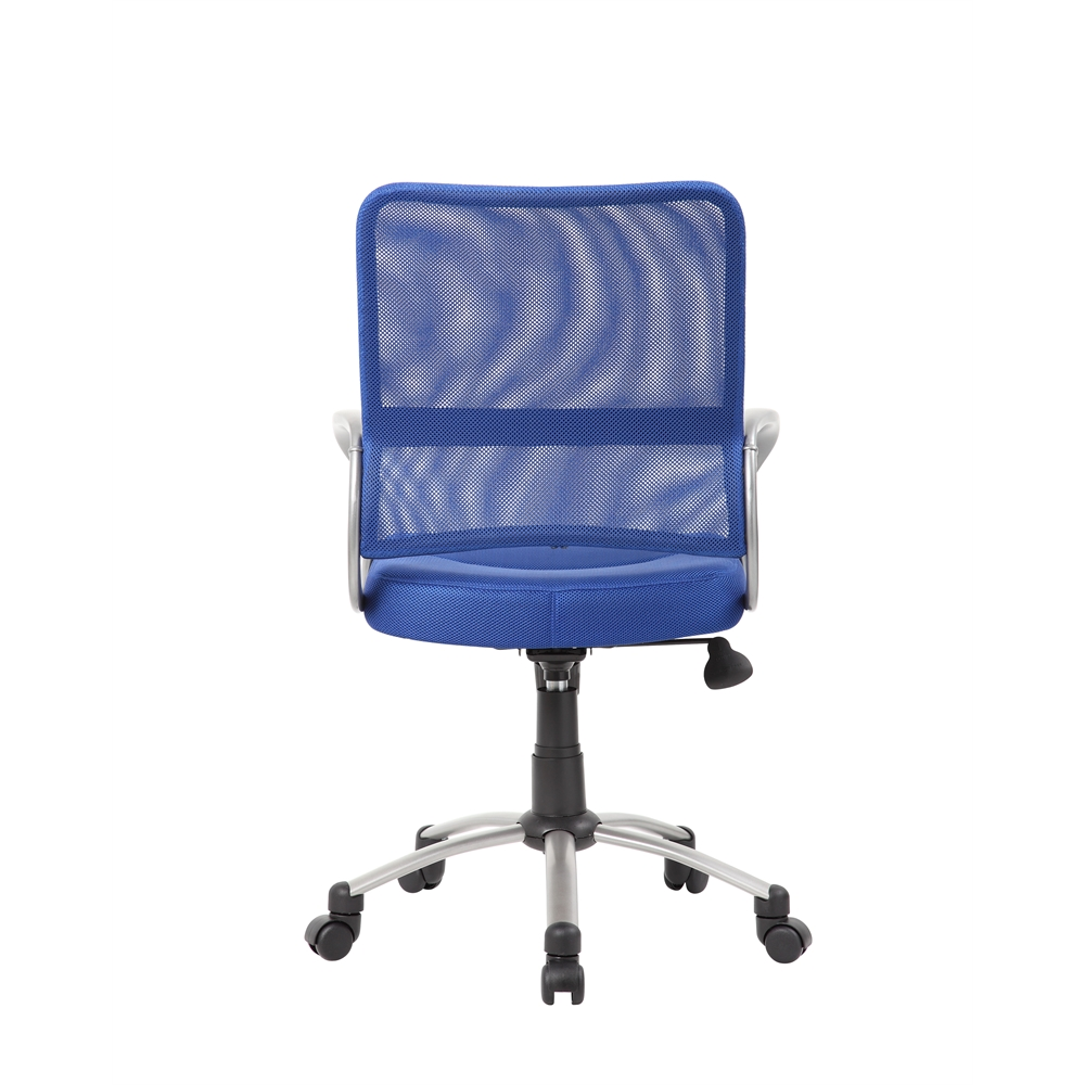 Boss Mesh Back W/ Pewter Finish Task Chair. Picture 1