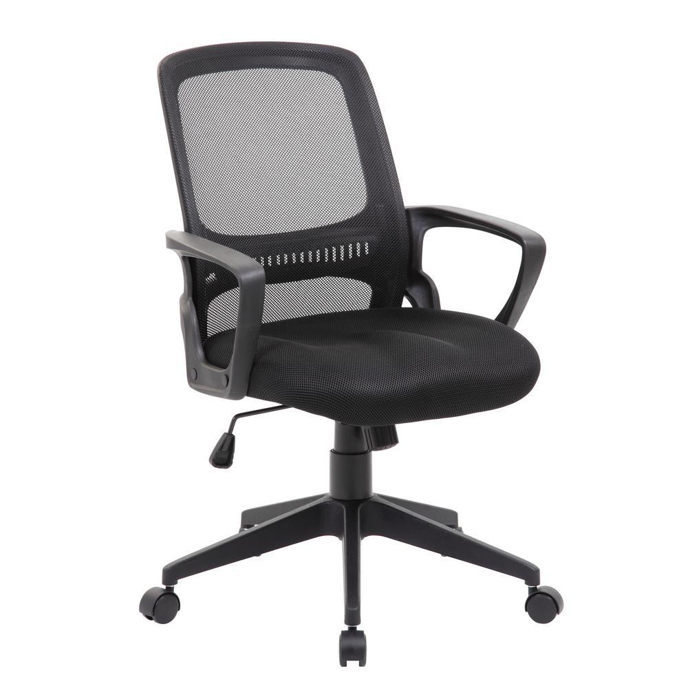 Boss Mesh Task Chair, Black. Picture 5