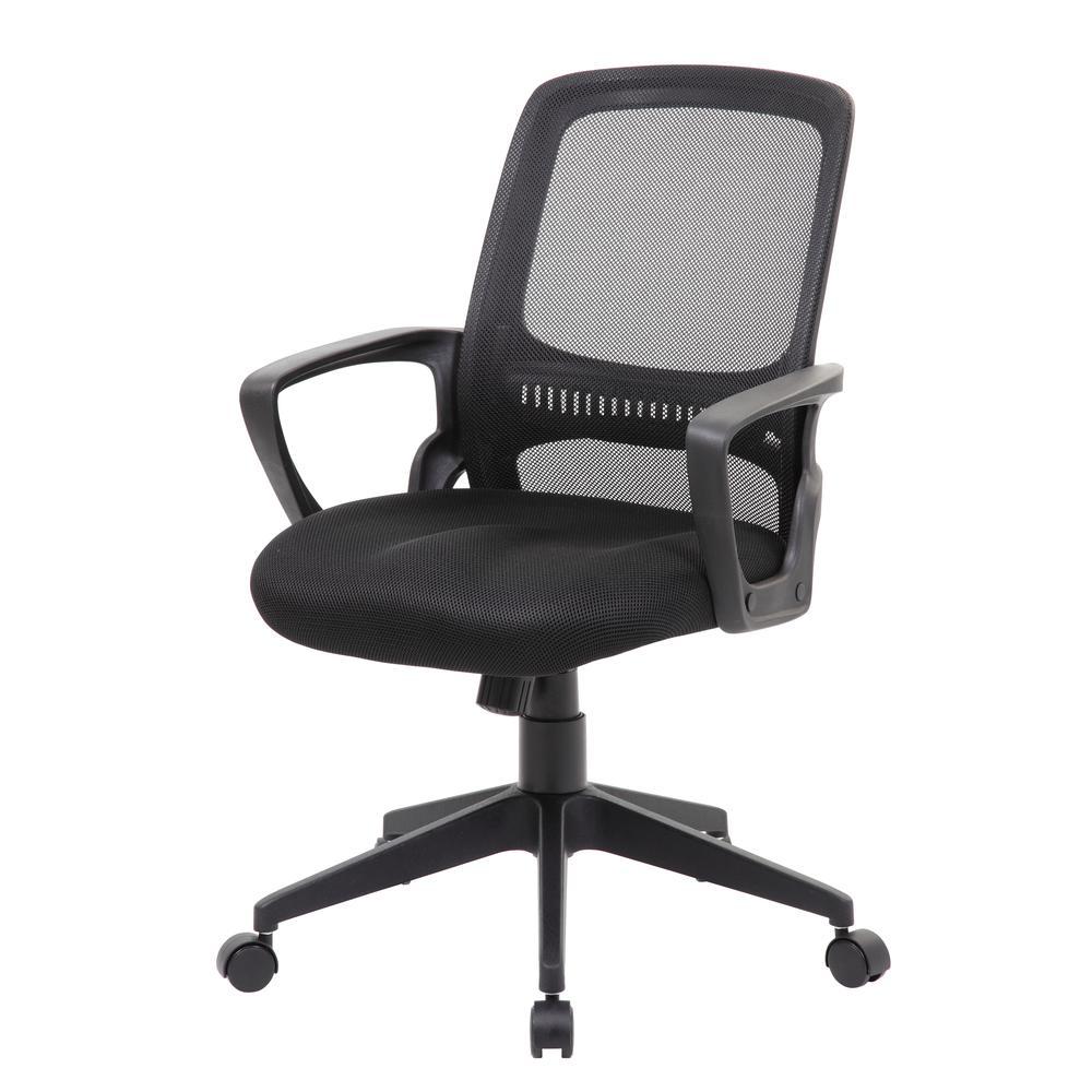 Boss Mesh Task Chair, Black. Picture 1
