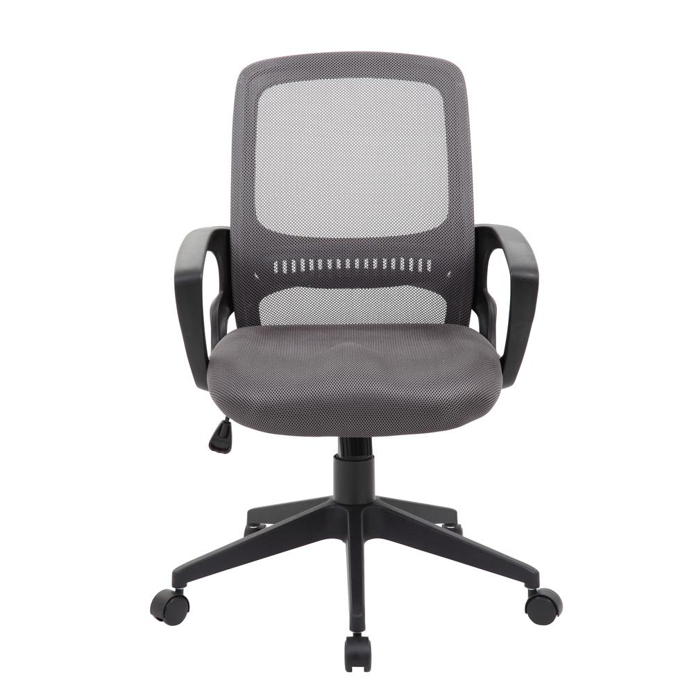 Boss Mesh Task Chair, Grey. Picture 1