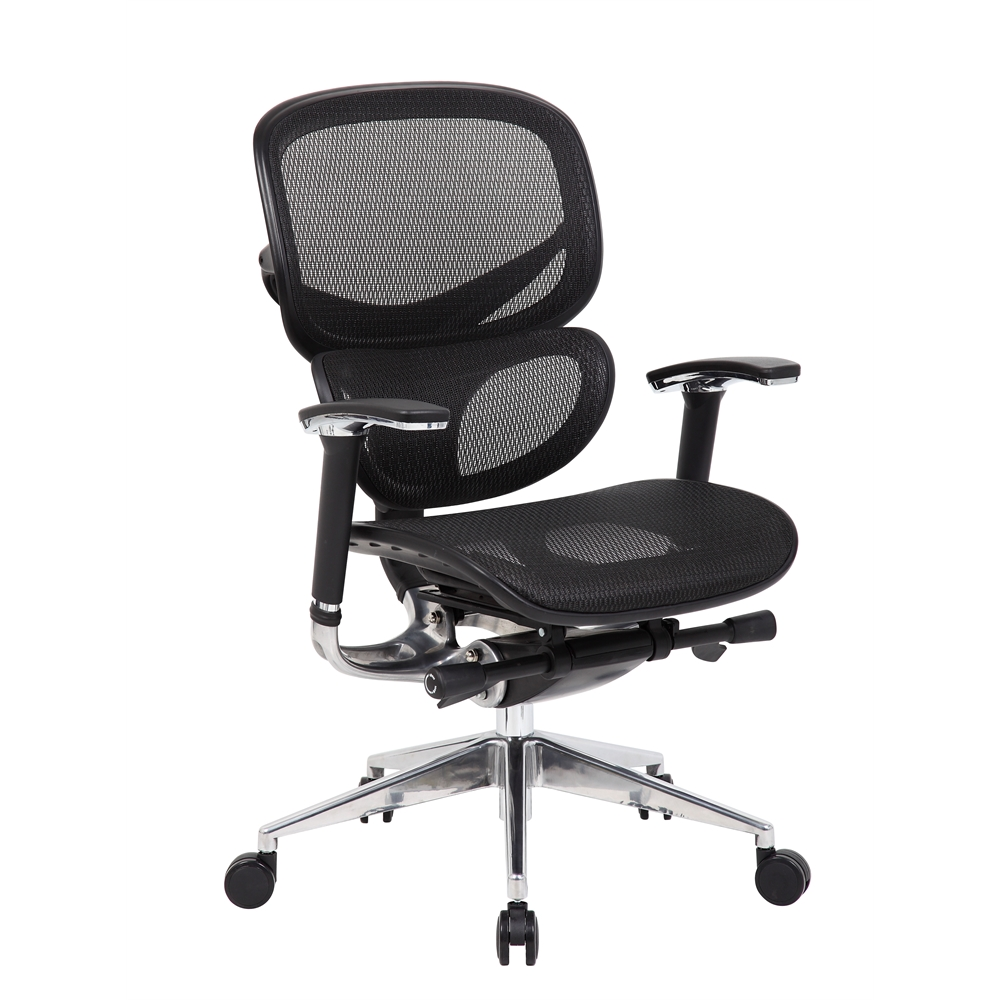 Boss Multi-Function Mesh Chair. Picture 6