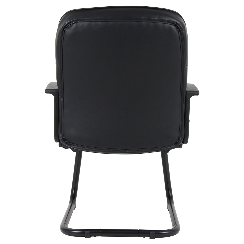 Boss Mid Back LeatherPlus Guest Chair. Picture 5