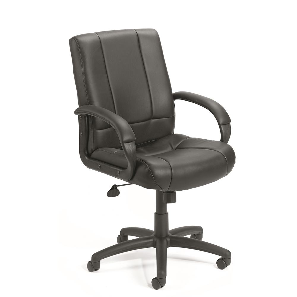 Boss Caressoft Executive Mid Back Chair. Picture 1