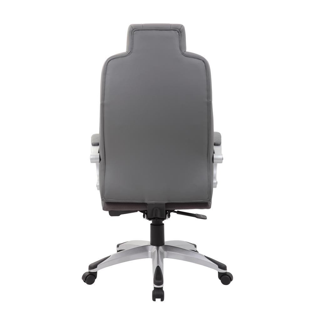 Boss Executive Hinged Arm Chair - Grey. Picture 3